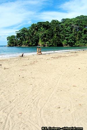 Playa Chiquita Costa Rica Map