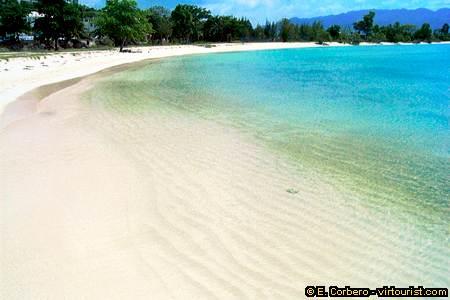 Montego Bay, public beach