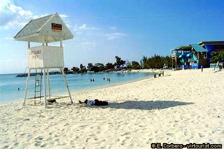 Montego Bay, water park beach 2