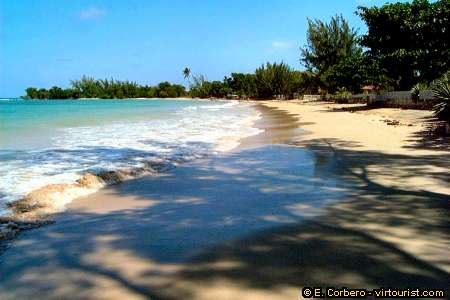 The Beach In Picture Is Public Runaway Bay Another Famous Superclubs Operated Resort Here Hedonism Iii After Success Of
