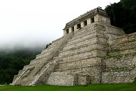 Ruins of Palenque, Temple of the Inscriptions