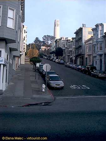 34 50 San Francisco Filbert St Looking Up To Coit