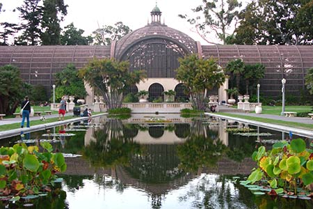 San Diego Balboa Park Botanical Garden Virtourist Com