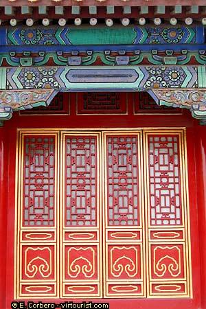 Beijing Forbidden City Door Detail Virtourist Com Beijing