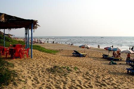 Goa Calangute Beach Virtourist Com Goa