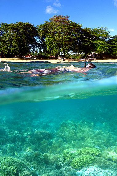 Bunaken Siladen Island Snorkeling Virtourist Com Bunaken
