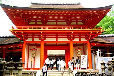 Nara, Kasuga Shintoist Temple. Tourist Information - VIRTOURIST.