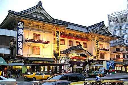 Tokyo, Kabuki-Za Theater. VIRTOURIST.COM TOKYO