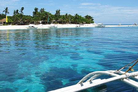 Bohol Balicasag Island Beach Virtourist Com Bohol