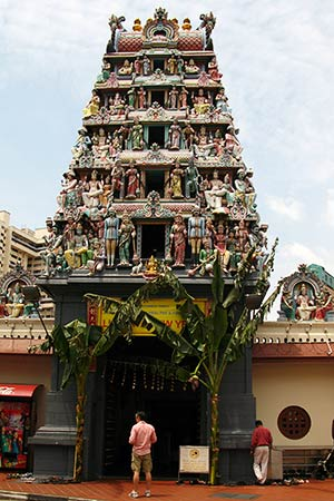 Singapore Temple Picture on Pakistan Hindu Post  Php   New Look For Singapore Hindu Temple