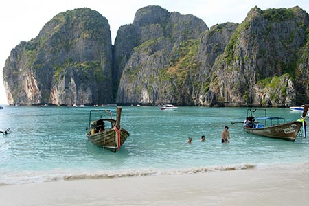 Phi Islands Ko Leh Maya Beach Virtourist Com