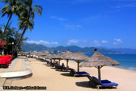Nha Trang Is A Place To Relax By Day And Party Night Its Long Beach Visited Locals First Thing In The Morning From 5 Am 8