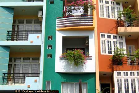 Saigon Apartments House Vietnam Virtourist Com Saigon