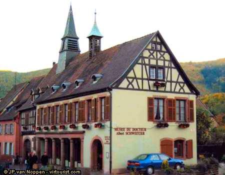 Alsace, Kaysersberg, Museum of Albert Schweitzer