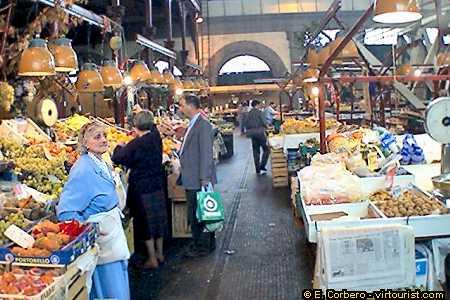32/43.- Florence, MERCATO di San Lorenzo. Tourist Information ...