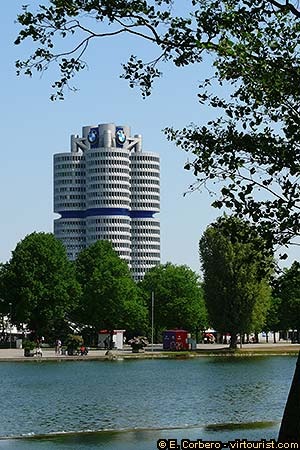 Munich Olympia Park Bmw Werk Virtourist Com Munich