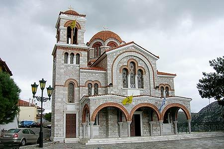 Church, Delphi, Greece. VIRTOURIST.COM