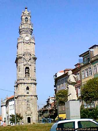 """21/36.- Porto, """"Torre dos Clérigos"""