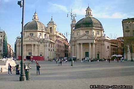 Rome, Piazza del Popolo,