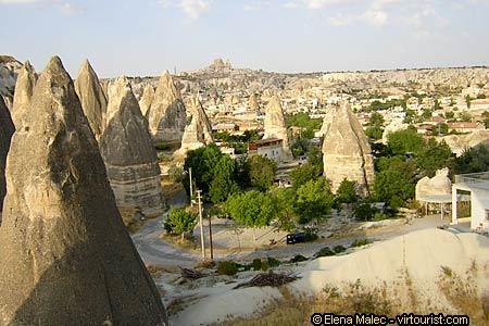 Cappadoce, Göreme village